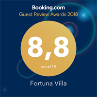 villa fortuna booking award